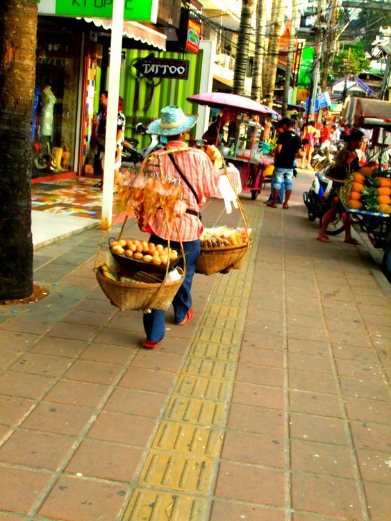 Egg seller in Phuket