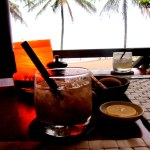 sunset drinks in Kuta