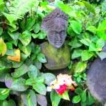 Female statue in Bali