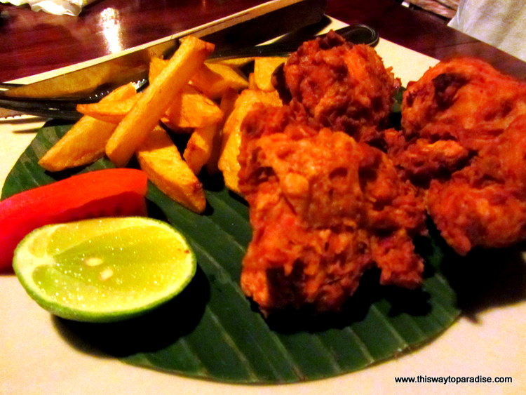 Ayam Goreng or fried chicken in Ubud, Bali