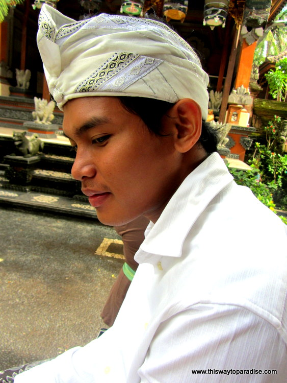 Boy at Balinese Ceremony