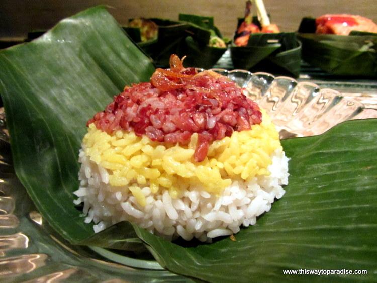 Rice from Nomad, Ubud, Bali