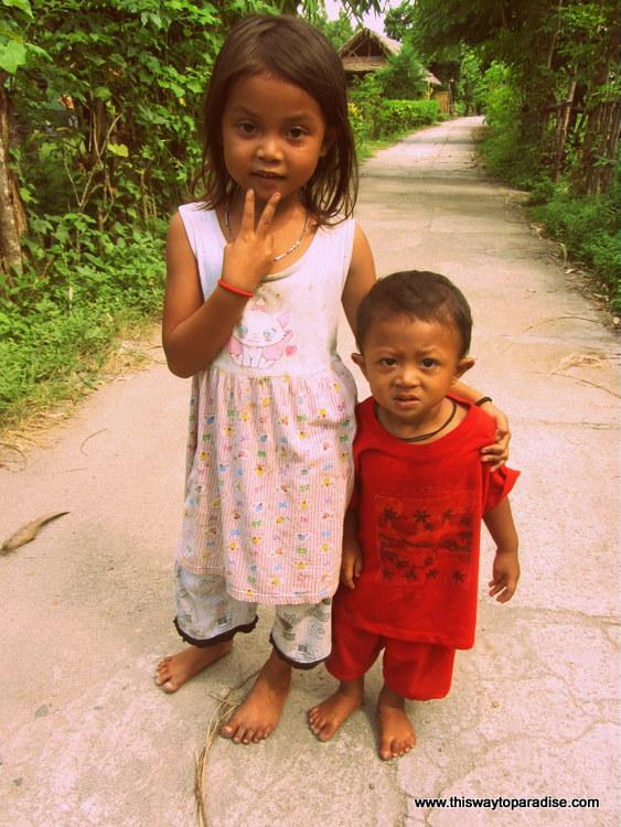 Children on Gili Air