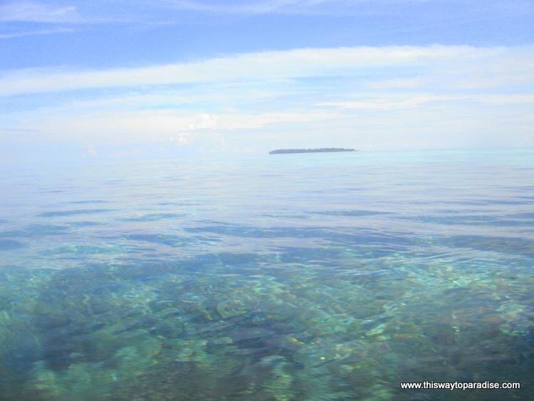 Ocean off Kai Island