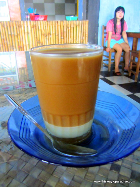 Coffee at the coffee shop in Makassar