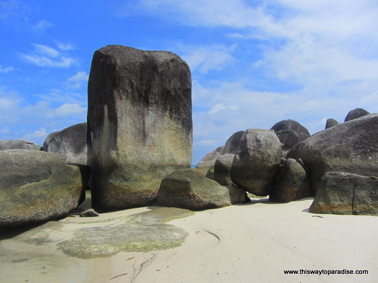Belitung, Sumatra beach Tanjung Tinggi