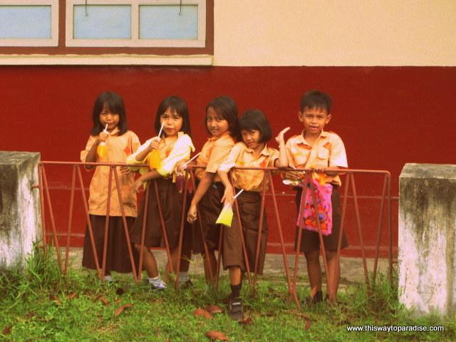 Belitung Island children
