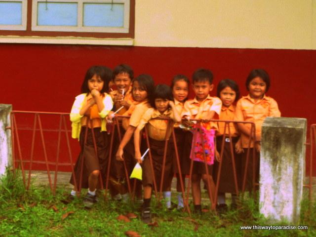 Children on Belitung Island, Sumatra
