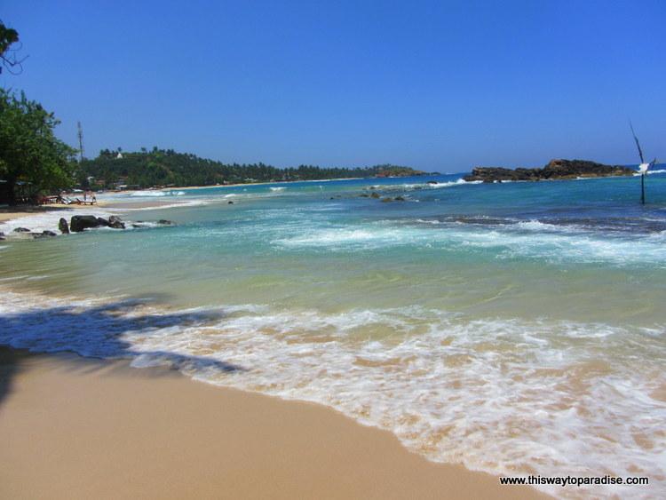 Waves on Mirissa Beach