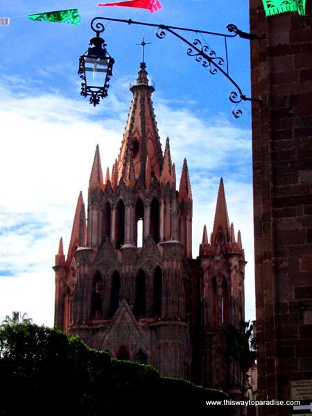 Parroquia Church in San Miguel de Allende