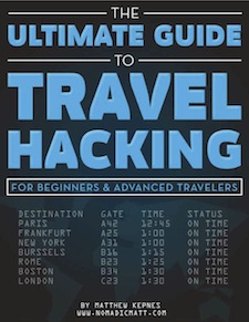 travel hacking cover