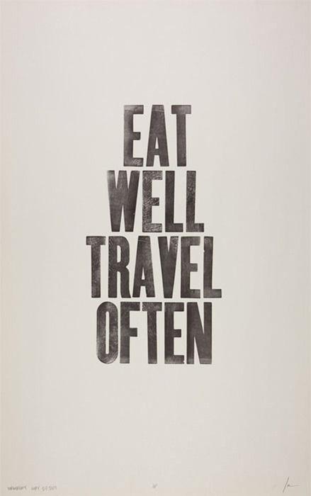 eat well travel food blog