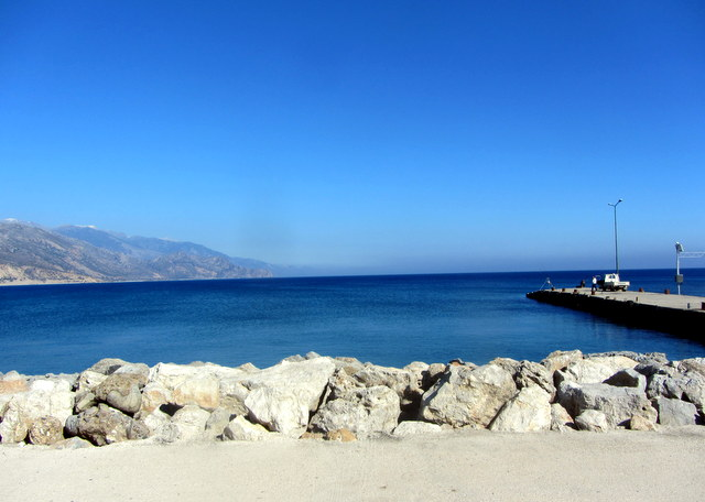 Beaches in Crete Paleochora