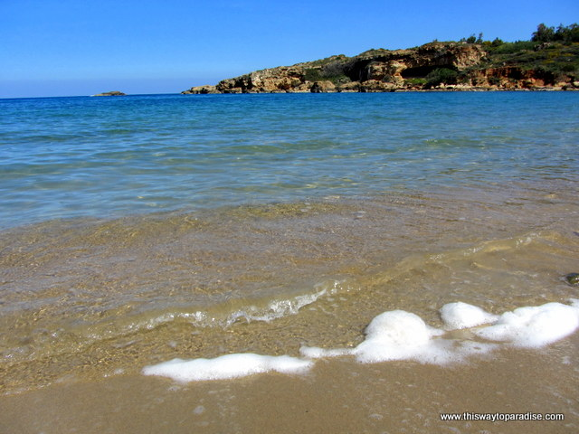 Agii Apostoli beach