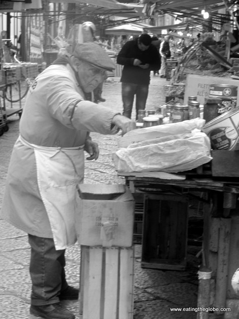 Man at Palermo Market
