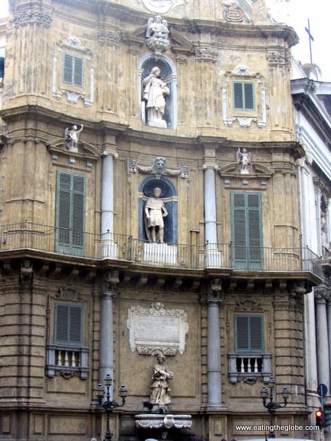 Quattro Canti in Palermo