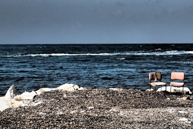 Beach in Trapani