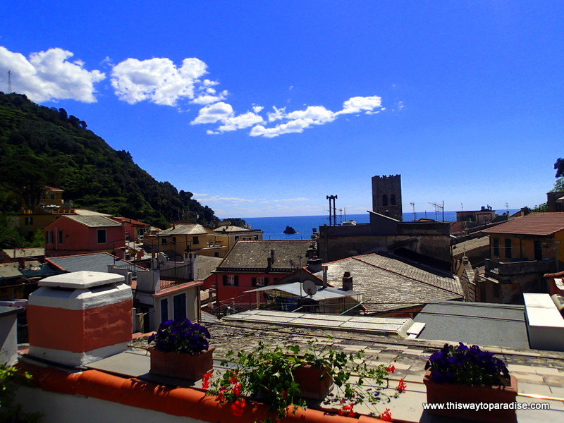 View from B&B SoleMare, Cinque Terre