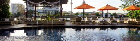 Relaxing On The River At The Riva Surya Hotel Bangkok