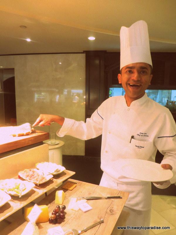 Chef Amit, Dusit Thani Bangkok