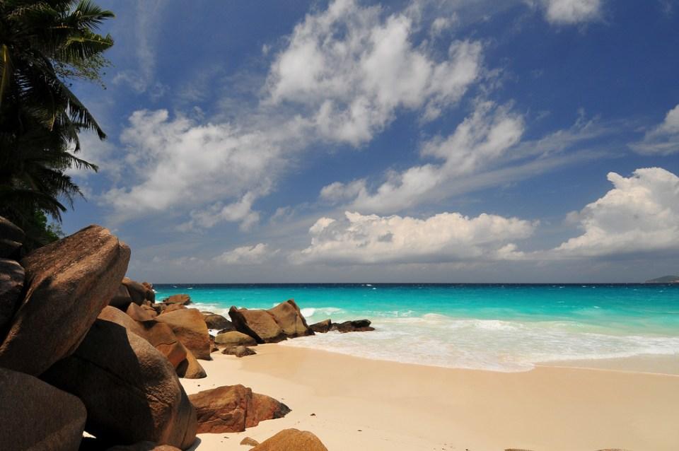 Anse Georgette (Praslin), Seychelles beaches