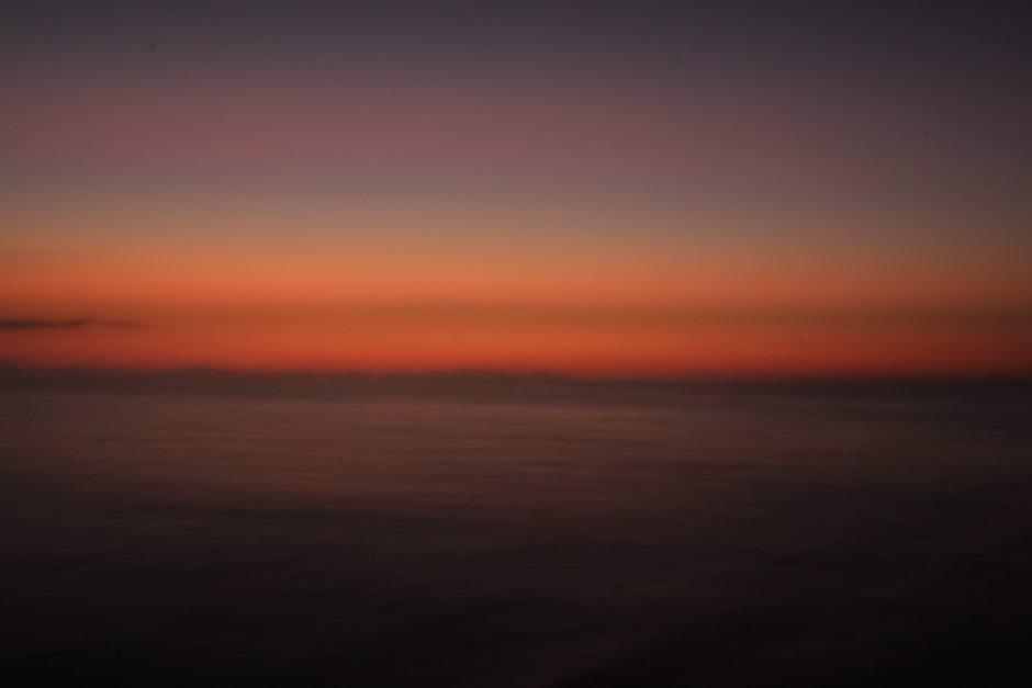 Sunset at the Whitsunday Islands, Australia