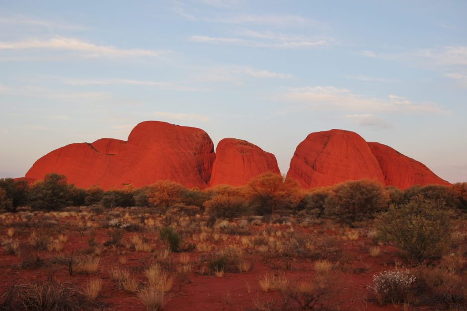Kata Tjuta at sunset, Australia