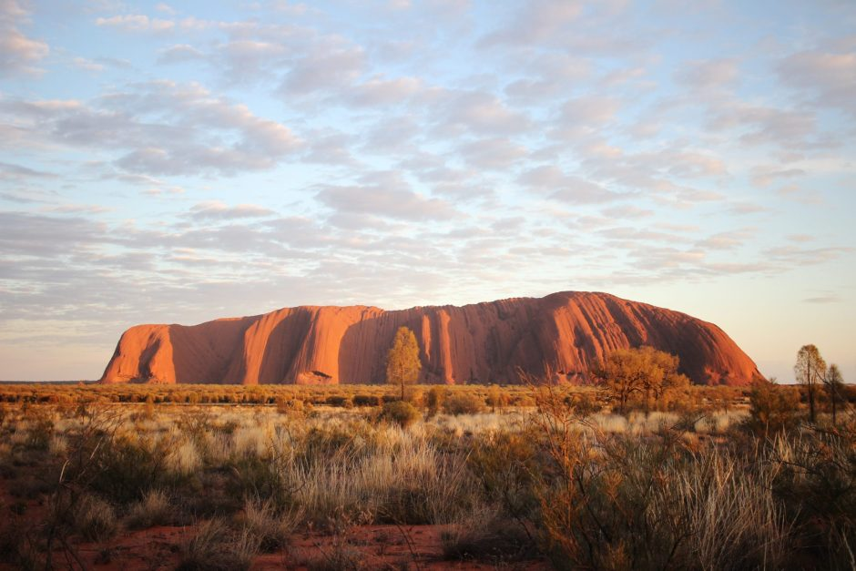 Uluru after sunrise, Australia