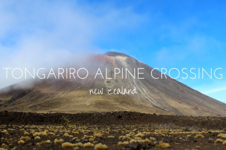 The Tongariro Alpine Crossing, New Zealand