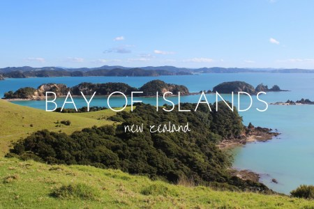 Take in the sights of the beautiful Bay of Islands at the top of New Zealand's North Island