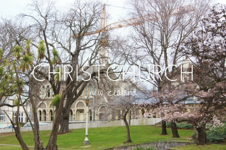 Christchurch is a city of cranes, still in recovery from the 2010 and 2011 earthquakes