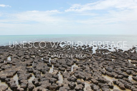 All the UNESCO World Heritage sites in the world I've been to on my travels so far