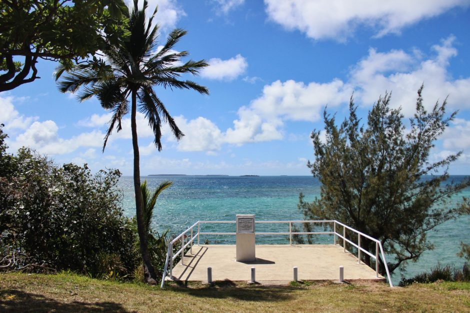 Monument to Cook's landing, Tonga