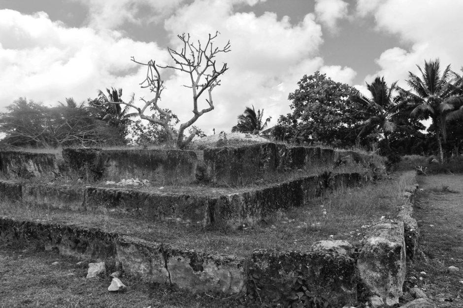 Langi, royal graves, in Tonga