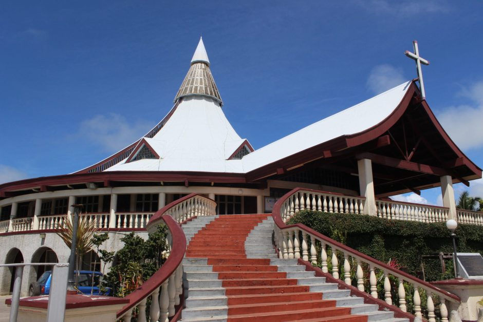 Church architecture in Tonga