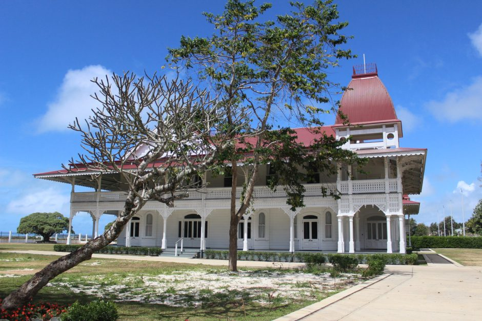 The Royal Palace in Tonga