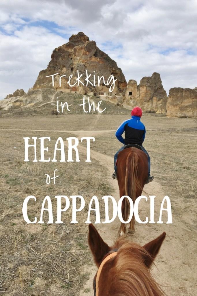 Trekking in the heart of Cappadocia, Turkey