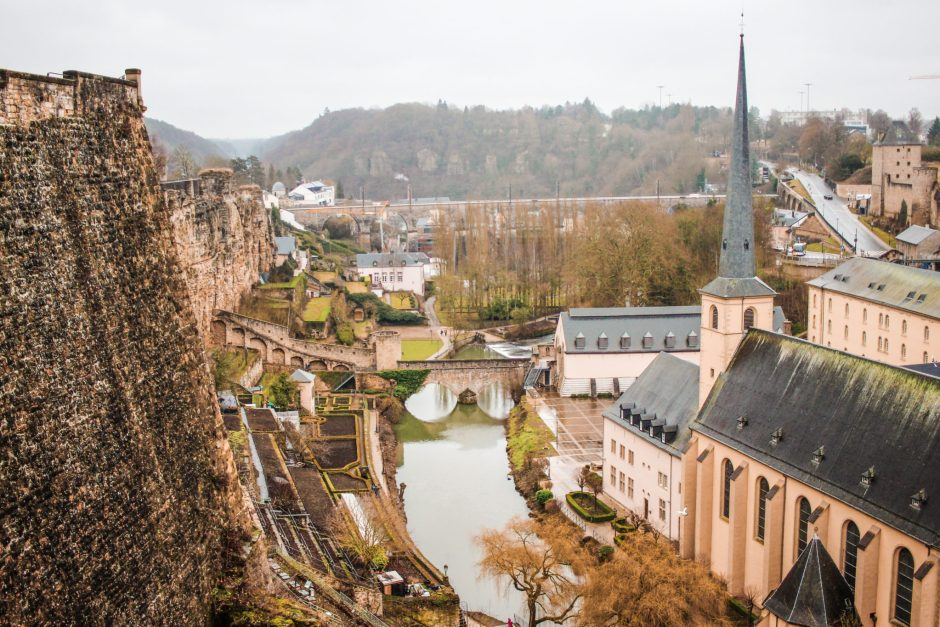 A beautiful view across Luxembourg