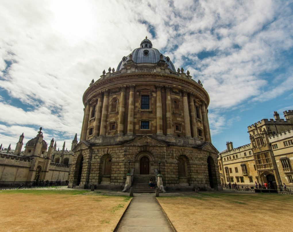 The Radcliffe Camera in Oxford University, UK
