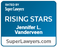 Super Lawyers Rising Star, Jennifer L. VanderVeen, CELA