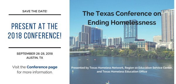 Texas Conference on Ending Homelessness info graphic