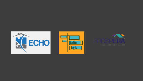 Echo, Company Logo, and Prospera