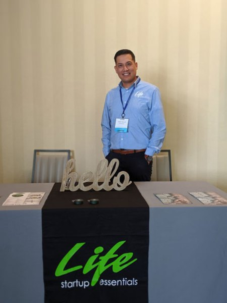 Picture of LIFE Startup Booth
