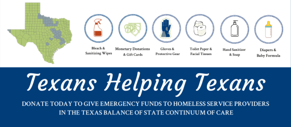 Graphic Asking for Funds to aid Homeless Service Providers