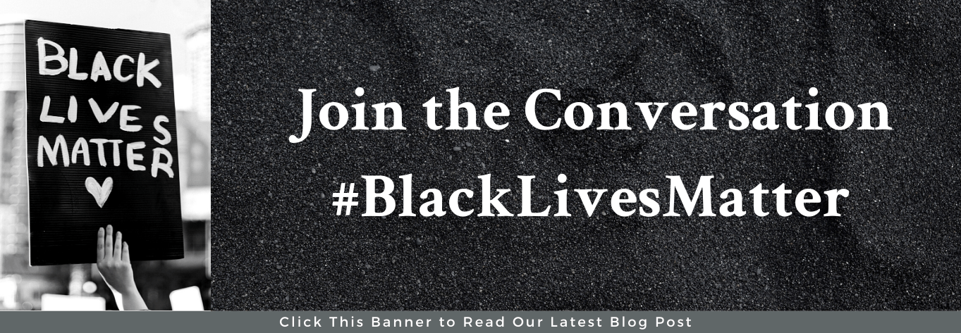 "A person is holding a protest sign that says Black Lives Matter. Next to the picture it says ""Join the Conversation. #BlackLivesMatter"""