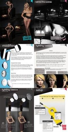Flash-Lighting-Playboy-Playmate-Simple-Light-DRAMA-Lighting-Cookbook-by-Dan-Hostettler