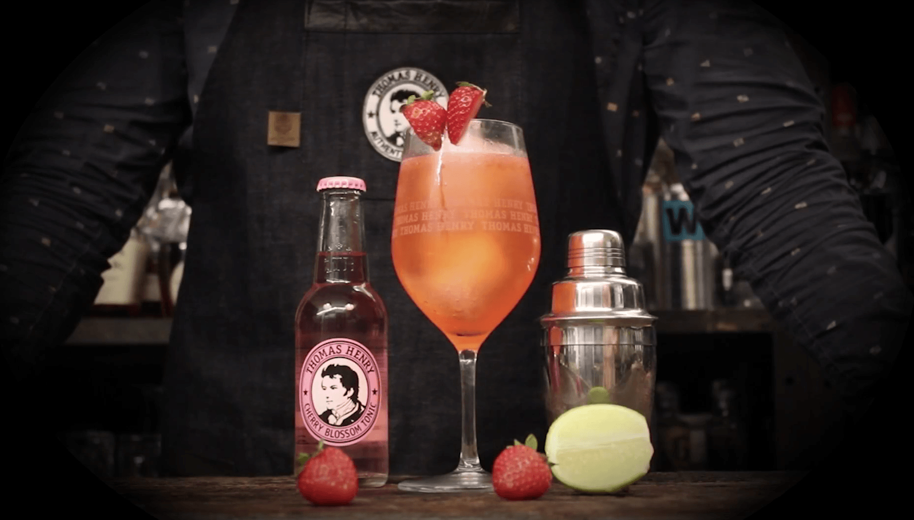 Friday Highball No. 10 - Red Butterfly