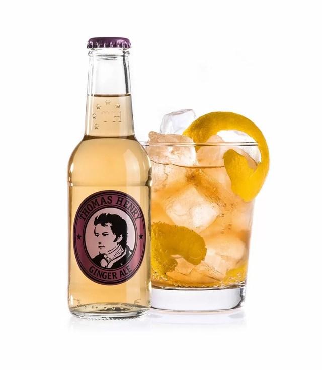 Horses Neck Der Must Have Cocktail Mit Thomas Henry Ginger Ale
