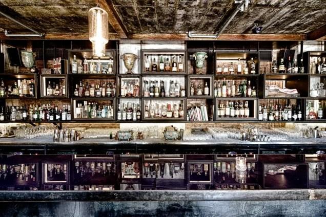 Einblick in die Bar Janes & Hooch in Beijing