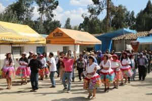 Tanzvorführungen beim Dorffest